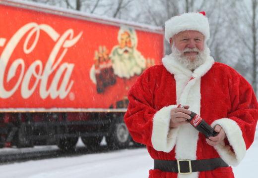 Jula på hjul – Coca Cola-trailer i Kristiansand