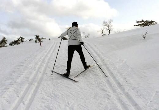 Nå må du til Evje for å gå på ski