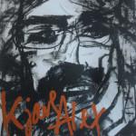 Tom Lid har tegnet portrett og har ansvar for scenografien.