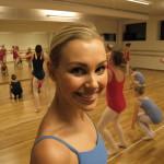 Marthe Westgaard har fullt opp med elever hos Spinn Dansestudio. Foto: AK Danielsen