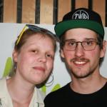 Anette Bylund og Robert Pantel.   Foto: Glenn Th. Faannessen