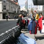 I juli kan folk handle til kl 19 i Markens. Foto: AK Danielsen