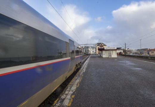 Sørlandsbanen åpen igjen