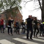 Neste gang Kristiansand Skolemusikkorps marsjerer i Kvadraturen, er på 17. mai. Foto: AK Danielsen