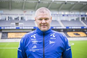 Start presenterte nye drakter for 2015 sesongen og spiller portretter. Hovedtrener i Start Mons Ivar Mjelde.