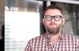 Kim Skarning Andersen, kinodirektør - Foto: Pål Lomeland