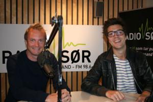 Lars Emil Nielsen og Thomas Jørstad Pettersen (Foto: Alf Otto Fagermo)