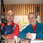 Bjarte Vestøl (til venstre) og Stephen Venables (Foto: Alf Otto Fagermo)
