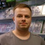 Spillekspert Hauk Marki Hansen fra GameZone i Kristiansand. | Foto: Alf Otto Fagermo