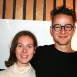 Johannes Bramnes Vaage og Anne Ingrid Tangen Kiær (Foto: Alf Otto Fagermo)