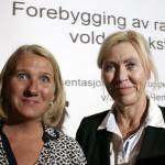 Karin Berthelsen og Rose Olsen. | Foto: Alf Otto Fagermo