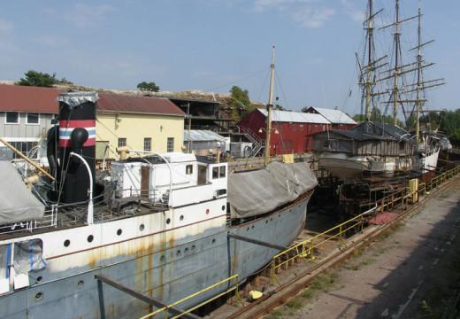 Fra seil til damp – Kristiansands sjøfartshistorie