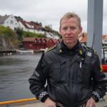 Innsatsleder i Agder politidistrikt Kjell Iveland (Foto: Henrik Gimle)