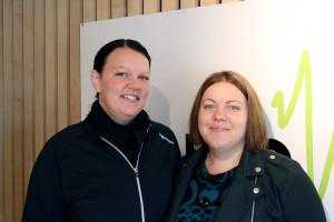 Sigrun Marie Ravnevand, og Karen Therese Ravnevand-Line (Foto: Heidi Rosander Lund)