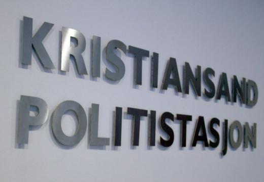Bare én politistasjon i Kristiansand