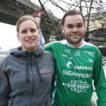 Ann Kristin Eide og Endre Fintland (Foto: Alf Otto Fagermo)