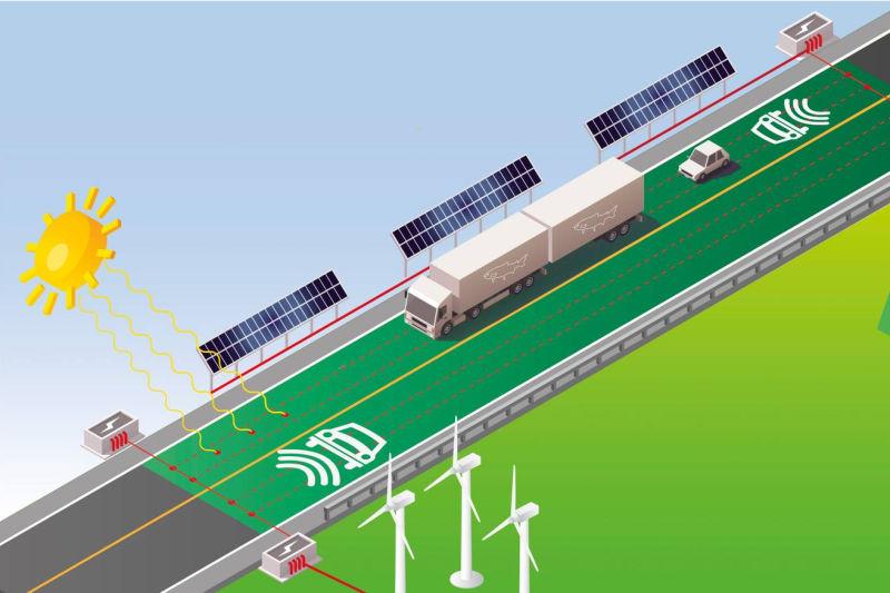 Slik ser Statens vegvesen for seg at E39 kan se ut i fremtiden. Illustrasjon: Statens vegvesen