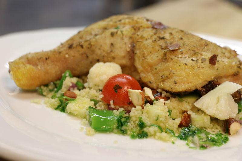 Kyllinglår med couscous