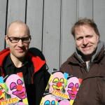 Chris Pettersen og Are Arnardo (Foto: Alf Otto Fagermo)