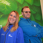 Camilla Rasch og Cato Wiig  (Foto: Ivar Eidsaa)