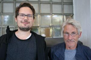 Håkon R. Gåre og Tormod Ropstad (Foto: Alf Otto Fagermo)