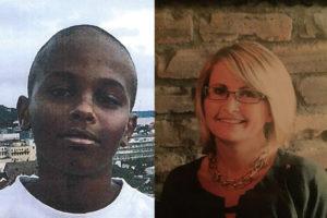 De avdøde er Jakob Abdullahi Hassan (14) og Tone Ilebekk (48) - Foto er frigitt av politiet