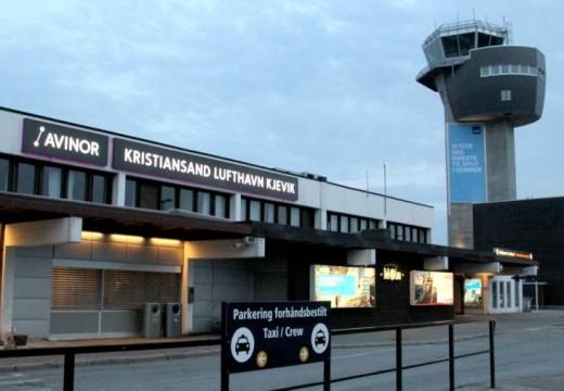 Nedgang i antall passasjerer på Kjevik