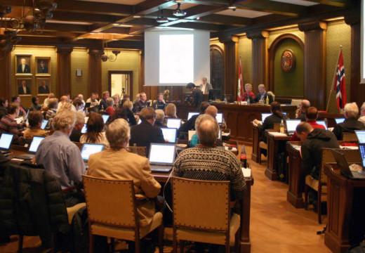 Følg bystyremøtet i Kristiansand direkte