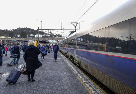 Full stans i togtrafikken til Stavanger