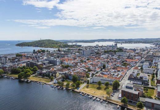 Overraskende gode regnskapstall for Kristiansand kommune