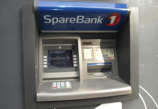 Slutt på kontanter over bankskranken