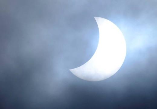 Solformørkelsen sett fra Odderøya