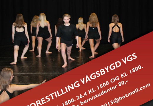 Framtidens dansere inviterer til forestilling