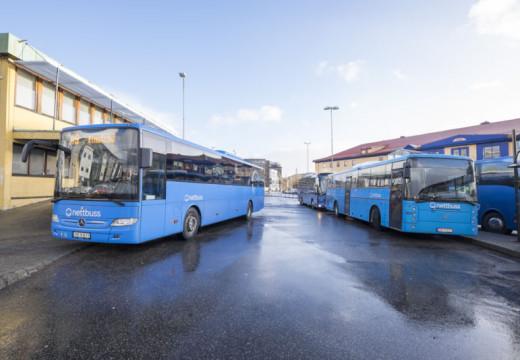 Bussene bryter fartsgrensen
