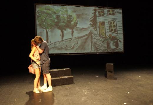 Kristiansandere på scenen til Det Norske Teatret