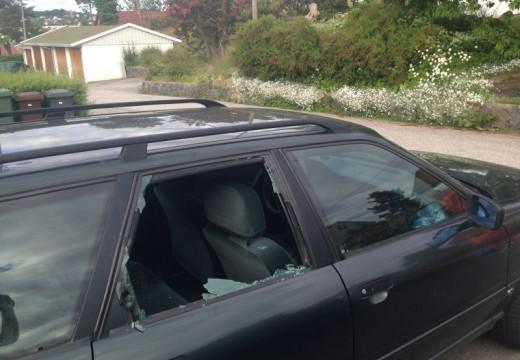 Flere bilinnbrudd i Vågsbygd