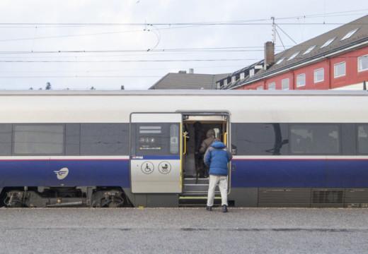 Fortsatt buss for tog på Sørlandsbanen