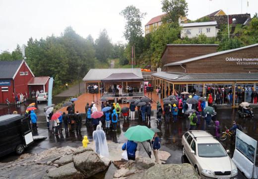 Storstilt åpning av nytt museumsbygg i Nodeviga