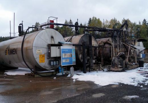 Brann i oljetanker på Rugsland er slukket