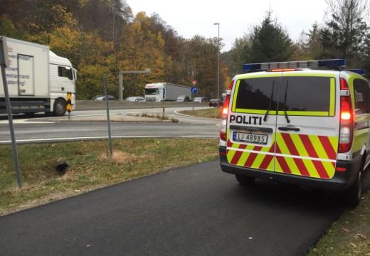 Trafikkulykke ved Bukksteinsvannet