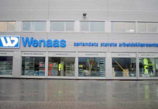 Wenaas legger ned i Sørlandsparken