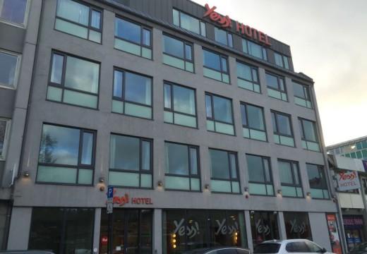 Kvinne (28) ranet på hotell i Kristiansand