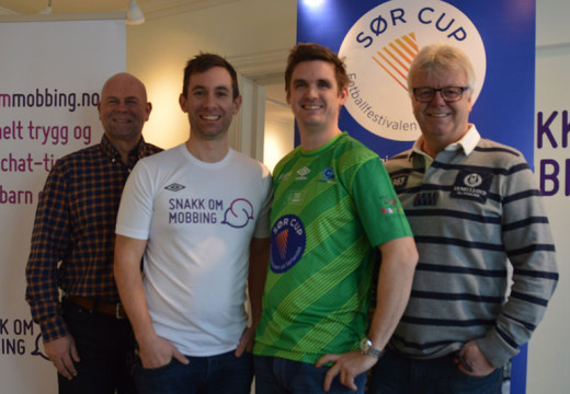 Sør Cup inngår viktig samarbeid mot mobbing