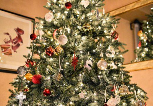– Det er billig å pynte til jul
