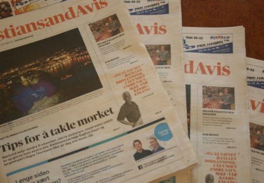 Kristiansand Avis legges ned